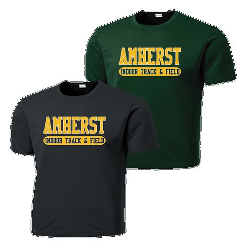 Amherst Indoor Track & Field Performance Tee (F100)