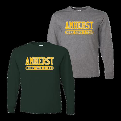 Amherst Indoor Track & Field LS Tee