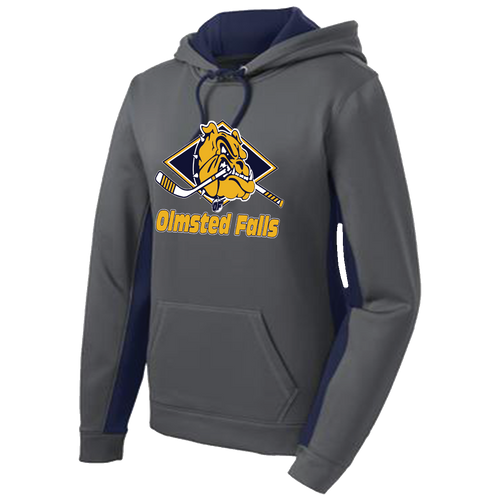 OFHS Hockey Ladies Colorblock Hoodie (F099)