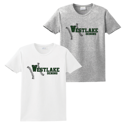 Westlake Baseball Ladies Tee