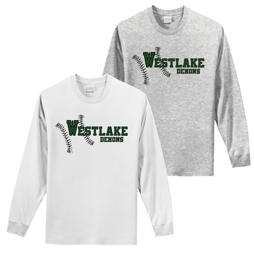 Westlake Baseball Long Sleeve Tee
