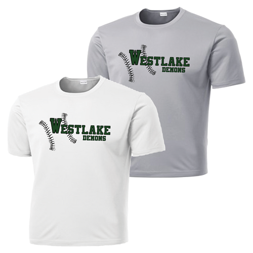Westlake Baseball Performance Tee