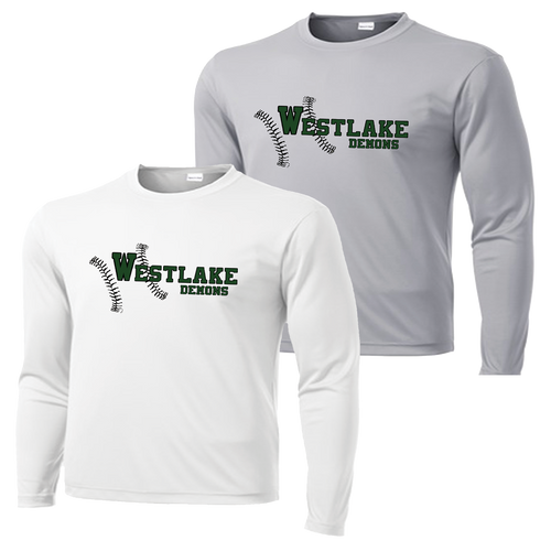 Westlake Baseball Performance Tee Long Sleeve