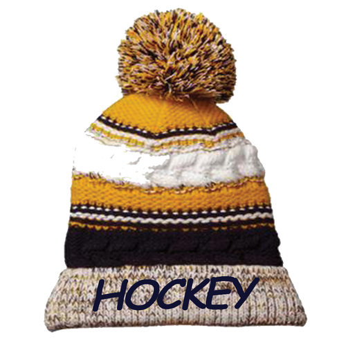 OFAB Hockey Pom Pom Team Beanie