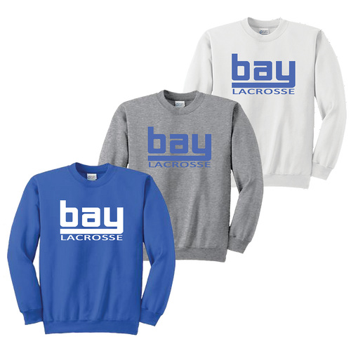 Bay Lacrosse Crewneck Sweatshirt