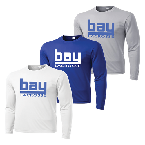 Bay Lacrosse Long Sleeve Performance Tee