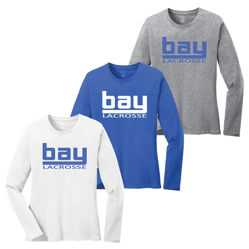 Bay Lacrosse Ladies Long Sleeve Tee