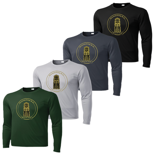 Forest City Standing Tall Performance Tee Long Sleeve