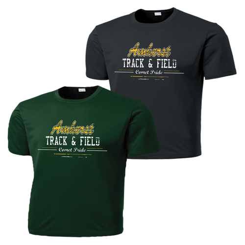 Amherst Track & Field Performance Tee