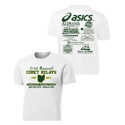 Comet Relays Performance Tee