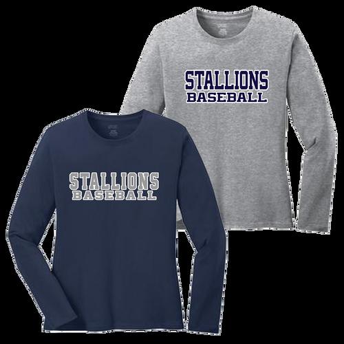 Stallions Ladies LS Tee