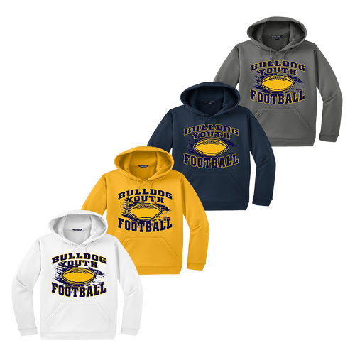 Bulldog Youth Football Performance Hoody