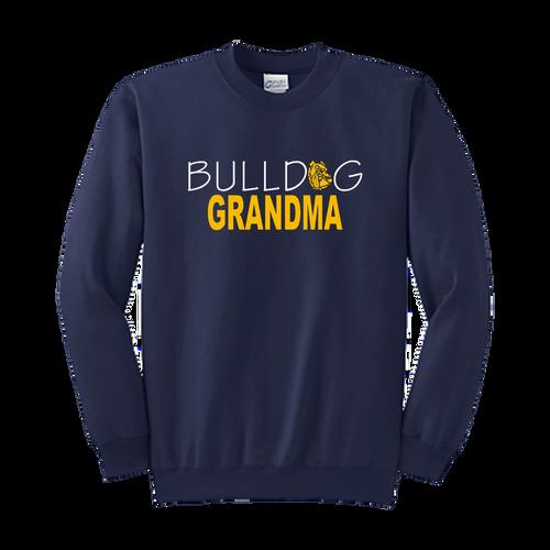 Bulldog Grandma Crewneck