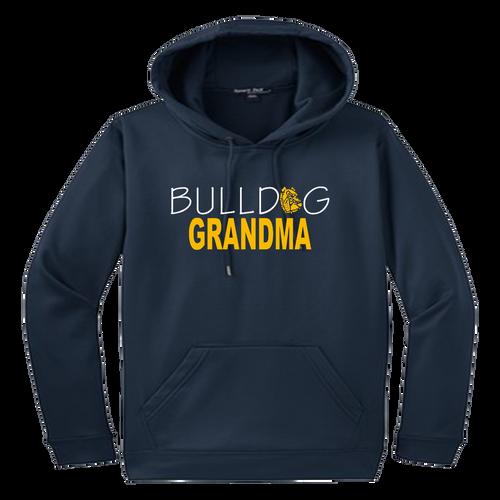 Bulldog Grandma Performance Hoody