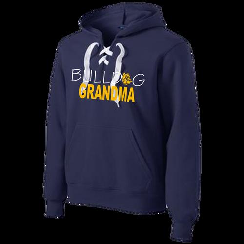 Bulldog Grandma Lace Hoody