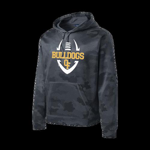 Bulldog Football Camohex Hoody