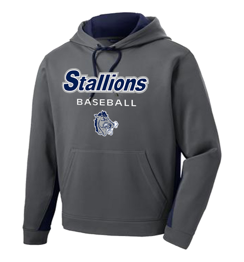 Stallions Colorblock Performance Hoodie