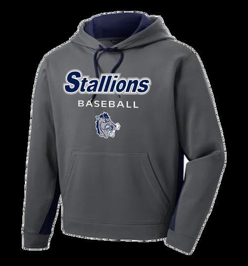 Stallions Colorblock Performance Hoodie