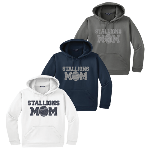 Stallions Mom Performance Hoodie