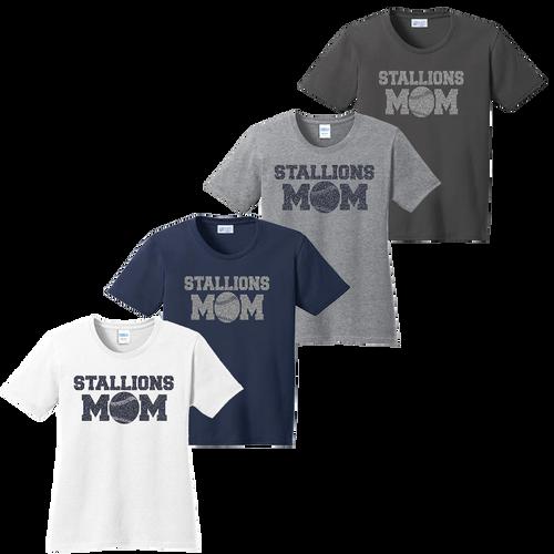 2017 Stallions Mom Ladies Tee  (F143/F156)