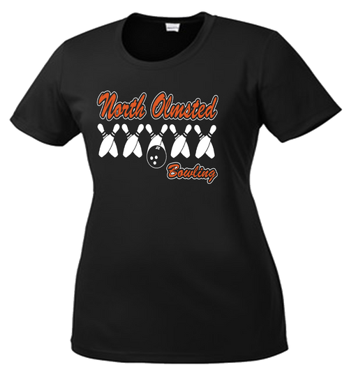 NOHS Ladies Bowling Performance Tee