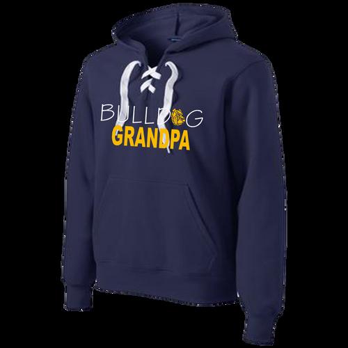 Bulldog Grandpa Lace Hoody