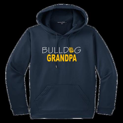 Bulldog Grandpa Performance Hoody