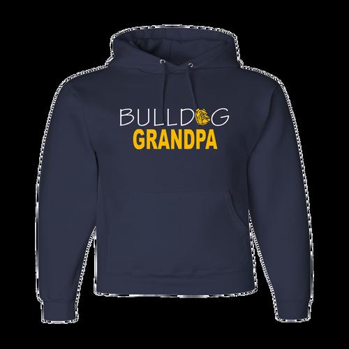 Bulldog Grandpa Hoody