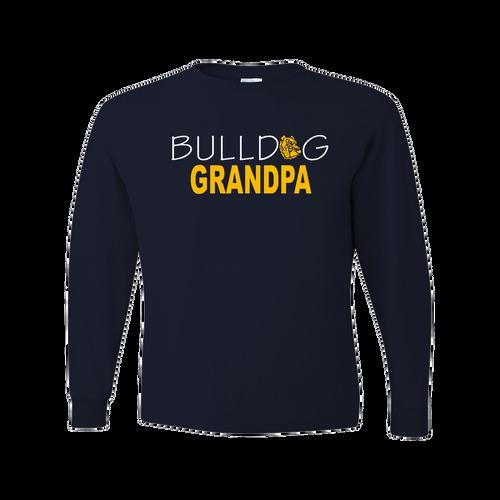 Bulldog Grandpa LS Tee