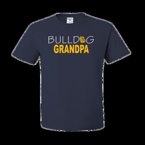 Bulldog Grandpa Tee