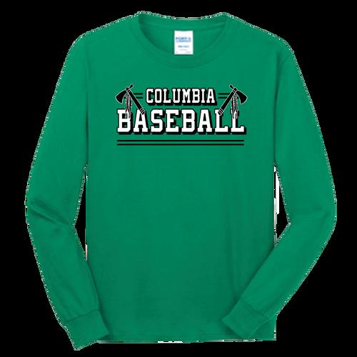 Columbia Baseball LS Tee