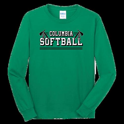 Columbia Softball LS Tee