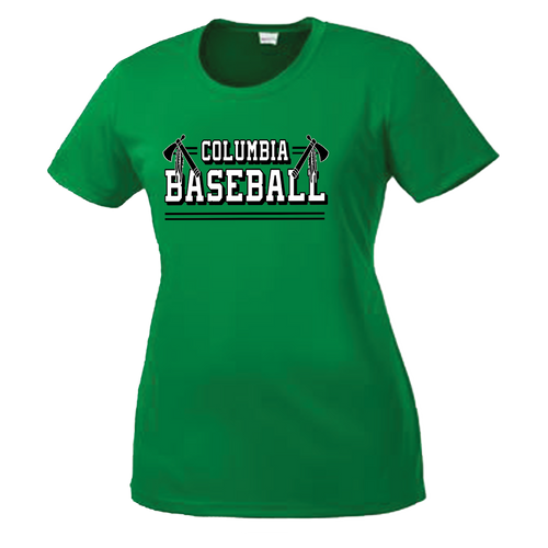 Columbia Baseball Ladies Performance Tee
