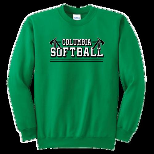 Columbia Softball Crewneck