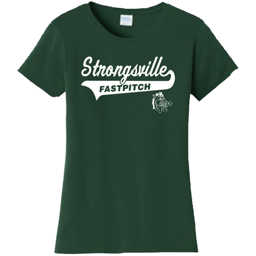 Strongsville Mustangs Ladies Tee
