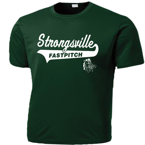 Strongsville Mustangs Performance Tee