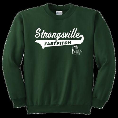 Strongsville Mustangs Crewneck