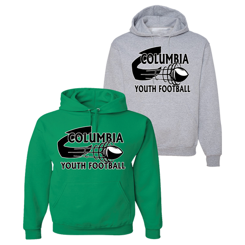 Columbia Youth Football Hoodie