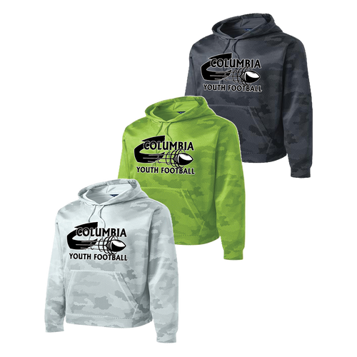 Columbia Youth Football Camohex Hoodie