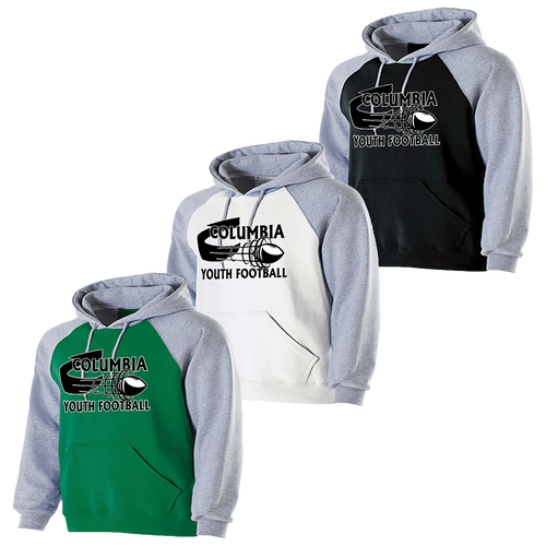 Columbia Youth Football Banner Hoodie