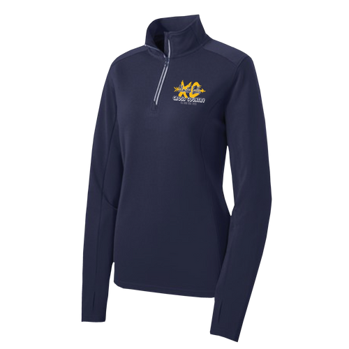 OFMS Cross Country Ladies 1/4 Zip Pullover
