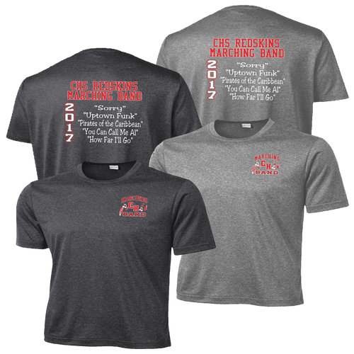 Cuyahoga Hts Marching Band Heather Contender Tee