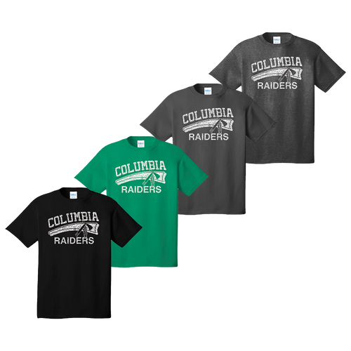 Columbia Raiders Tee