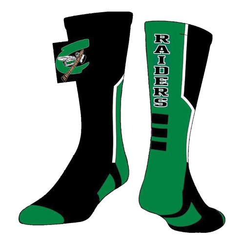 Columbia Raiders Socks