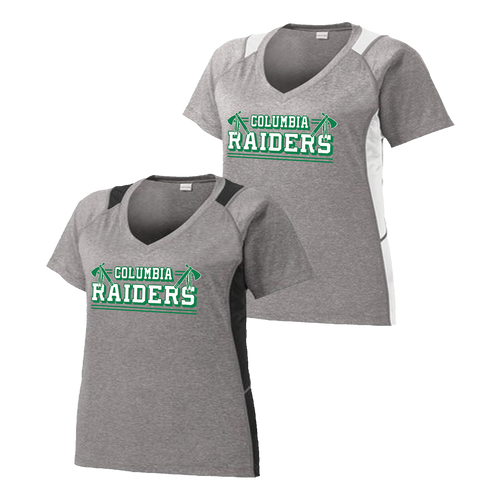 Columbia Raiders Ladies Colorblock Contender Tee