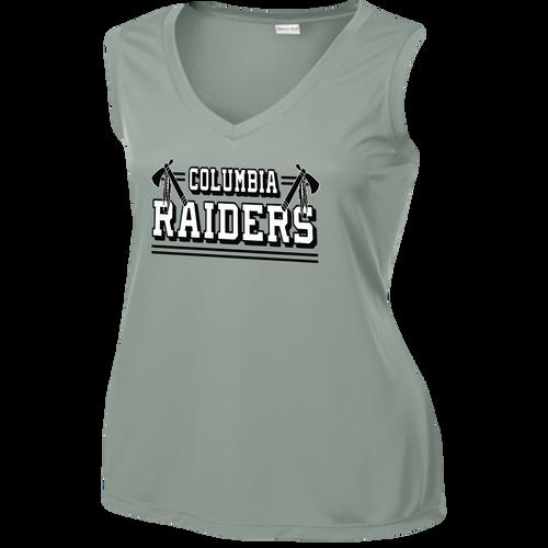Columbia Raiders Ladies Sleeveless Competitor Tee
