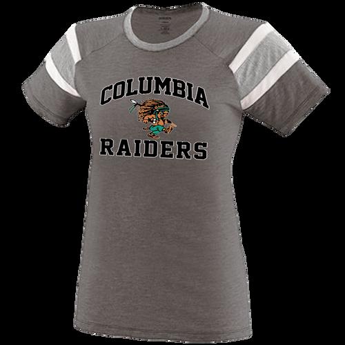 Columbia Raiders Girls Fanatic Tee
