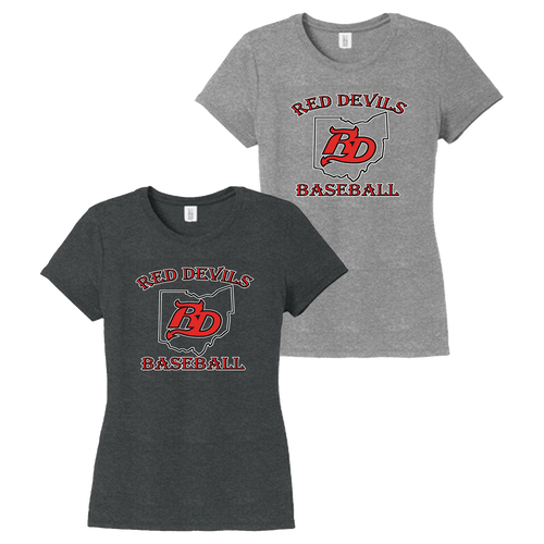 Red Devils Baseball Ladies Perfect Tee