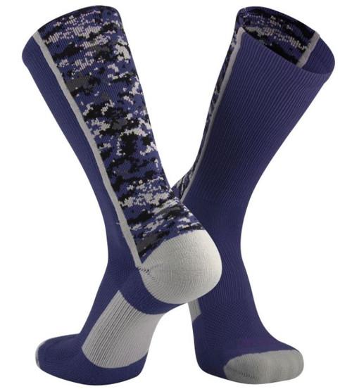Navy Digi Camo Socks