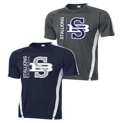 Stallions Colorblock Competitor Tee
